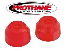 "Prothane 19-1712 Tie Rod End Dust Boots 1.375"" x 0.590"" Polyurethane Red"