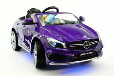 2017 Mercedes Cla Amg Kids Ride On Toy Car,Mp3,Usb,Leather, Led, Remote Control