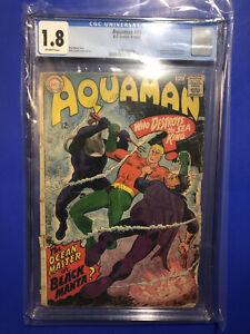 Aquaman #35 CGC 1.8 OWP 1st Appearance Black Manta DC COMICS Ocean Master 1967