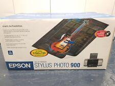 Epson Stylus Photo 900 Digital Photo Inkjet Printer New 6 Color 5760 x 720 DPI