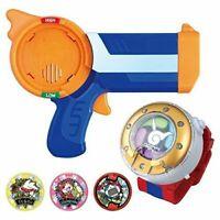 YoKai Watch yo-kai DX Dream Watch DX Blaster gun Toy 3 medals Bandai w/Tracking