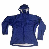 Marmot Men's Windbreaker Rain 100% Nylon Jacket Size XL Blue