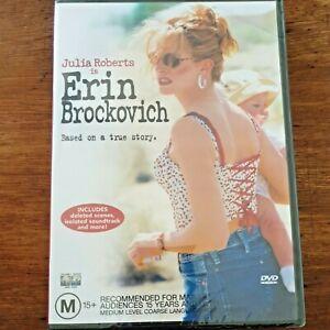 Erin Brockovich (DVD, 2000) Brand New Sealed – FREE POST