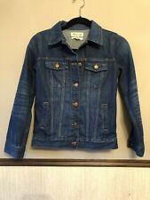 Madewell XS Classic Denim Jean Jacket in Blue Briarwood Wash NWT