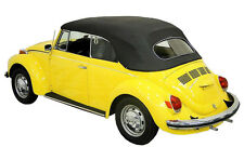 1968-1971 VW BEETLE CONVERTIBLE TOP PACKAGE: TOP, HEADLINER, BOWS, CABLES, etc.