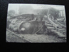 FRANCE - carte (reproduction) (deraillement de l express de cherbourg ) (cy68)
