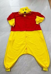 Winnie The Pooh Adult Cosplay Costume Size M