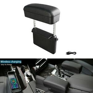 1x Multi-function Universal Adjustable Car Armrest Pad Auto Center Console Box