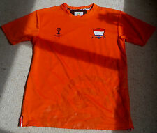 2014 WORLD CUP NETHERLANDS AUTHENTIC FOOTBALL SHIRT. Size Small