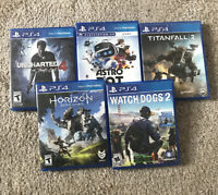 PlayStation 4 Games - Complete Pick & Choose PS4 (Sports, War, Action and More)