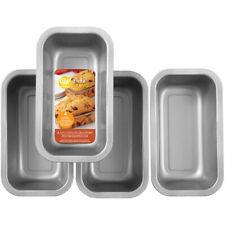 Wilton Bake & Bring Autumn Print Non-Stick Mini Loaf Pans, Set of 4, 2105-5273