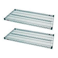 More details for pack of 2 metro super erecta shelves powder coated carbon steel