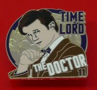 Danbury Mint Enamel Pin Badge BBC TV Doctor Who Dr Who The 11th Eleventh Doctor