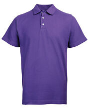 POLO SHIRTS, TOPS, SIZES S - 10XL PLAIN PIQUE POLOS FOR WORK, CASUAL, ACTIVEWEAR