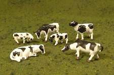 BACHMANN SCENE SCAPES HO SCALE COWS - Black & White
