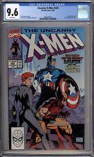 Uncanny X-Men 268 CGC Graded 9.6 NM+ Marvel Comics 1990