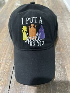 "Disney Hocus Pocus ""I Put A Spell On You"" baseball hat NWT Sold Out Bette Midler"