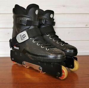 Solex Aggressive In-line Skates Roller Blades Size 8 EU 42 black
