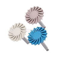 6pcs Dental Composite Polishing Diamond system RA disc 14mm wheel AZ