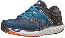 Saucony Men's Triumph 17 Running Shoe, Blue/Black, 12.5 D(M) US