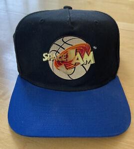 Vintage Space Jam Hat Tune Squad/Michael Jordan Snapback Ball Cap/90's Gold Logo