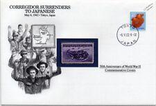 WWII 1942 Battle of Corregidor / Surrender to Japan Stamp Cover (Danbury Mint)