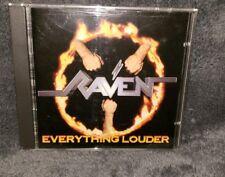 RAVEN cd EVERYTHING LOUDER spv 085-12162 cd german import free US shipping