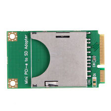 MINI PCI-E PCI EXPRESS mPCIe MINICARD A SD CARD ADATTATORE CONVERTITORE VIDEO Board HDD SSD