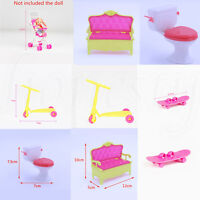 1/2X Miniature Furniture Simulation Mini Play For Doll House Accessories