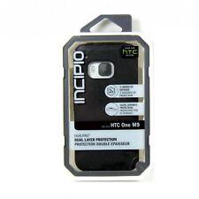 INCIPIO CASE HTC ONE M9 DUALPRO DUAL LAYER SHOCK IMPACT ABSORB BLACK HT-416-BLK