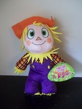 "2015 SUGAR LOAF TOYS SCARECROW NWT 12"" PLUSH ECO-FRIENDLY STUFFED GREEN!!"
