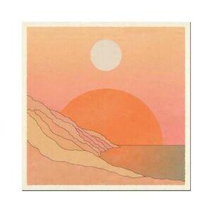 "CAI & JO PRINT Nostalgia HOME BOHO DECOR Poster WALL ART 70s 12""x12"""
