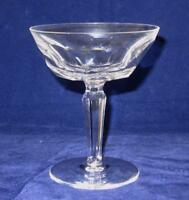 "Waterford Crystal SHEILA Champagne or Tall Sherbet Glass Goblet, 4 3/4"" Tall"