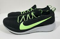 Nike Zoom Fly Flyknit Mens Running Shoes Black Lime Blast Size 11