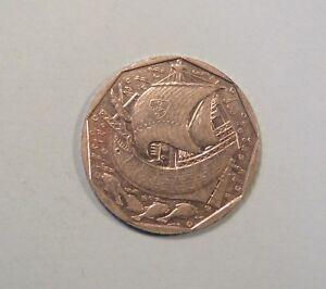Portugal 50 Escudos 1988 Copper Nickel World Coin Old Sailboat Ship Fish