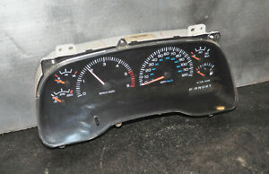 2000 2001 Dodge Ram 1500 2500 3500 Dash Gauge Cluster Speedometer OEM 5.9L AT