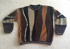 Tundra Vintage Sweater Men's Large Dr. Huxtable Biggie 90s Hip Hop Fashion Wild