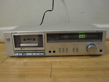 Sharp RT-31 Vintage Stereo Cassette Deck Tested Free Shipping Very Nice