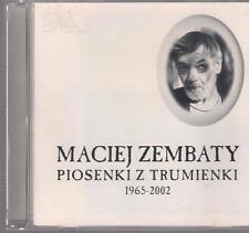 MACIEJ ZEMBATY PIOSENKI Z TRUMIENKI 1965-2002 VOL.2 PLYTA DOLNA TOP RARE OOP CD