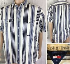 Vintage Tommy Hilfiger Shirt Maritime TH Provisions Sailing Nautical Striped M