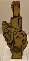 1940's MARX SOLDIERS OF FORTUNE ~ HOWITZER ~ TIN TARGET PLAY SET METAL TOY
