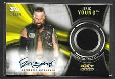 2018 Topps WWE NXT Called Up Pack Fresh SHIRT AUTOGRAPH Eric Young EY AUTO 18/99