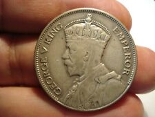 NEW  ZEALAND   SILVER   1/2  CROWN   1933