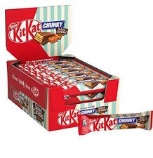 Nestle KitKat Chunky Salted Caramel Fudge 24 x 42g Each Bar Milk Chocolate Bars