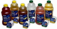 Drink Thick & Easy Apple Honey Consistency Portion Control Cups 24 Case 4oz