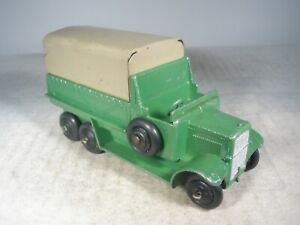 Dinky Toys #25s. SIX WHEEL WAGON GREAT CONDITION
