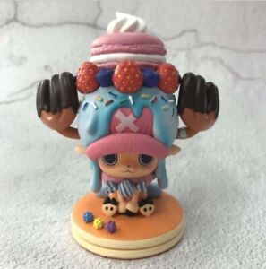 Anime One Piece Tony Tony Chopper Sweety Cake Ver. 11cm PVC Figure Cute Gift NEW