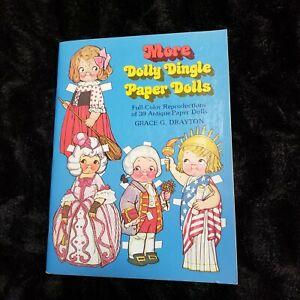 More Dolly Dingle Paper Dolls By Grace G Drayton 1979 Crafts Collages UNCUT