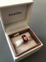 Red Loverheart Genuine PANDORA murano charm
