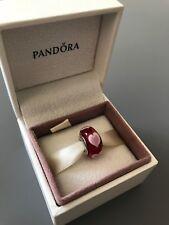 Red Loverheart Genuine PANDORA murano charm